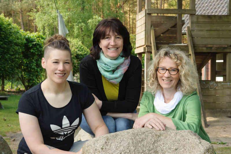 Das Team des Kindergartens Kasperburg in Kirchseelte