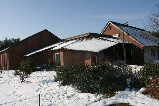 Gemeinde Kirchseelte - Dorfgemeindehaus im Winter